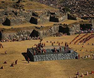 La mejor tribuna para ver la fiesta Inti Raymi 2020