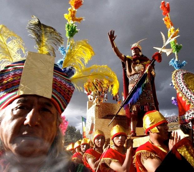 The Inti Raymi 2019 festival in the Inca Empire - Inti Raymi