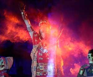 Inicia Inti Raymi 2020 con ceremonia del inca en Cusco